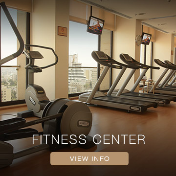 Gym at Regency Hotel Amman
